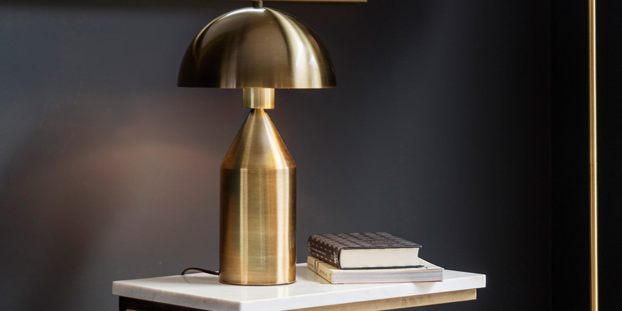 Embla Table Lamp on Side Table