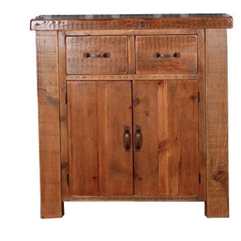 English Beam 2 Door Reclaimed Wood Sideboard