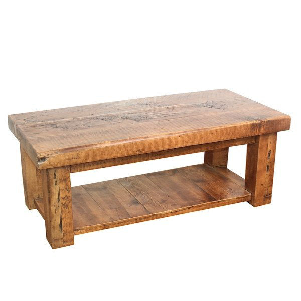 English Beam Reclaimed Wood Coffee Table