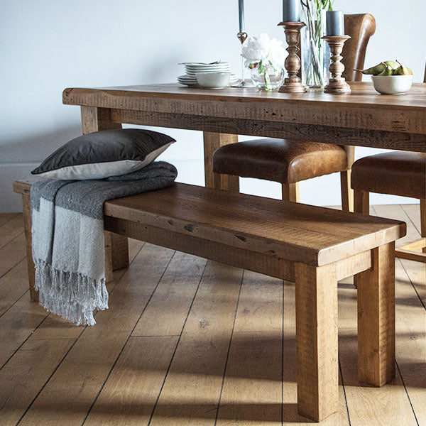 Beam Reclaimed Wood Bench