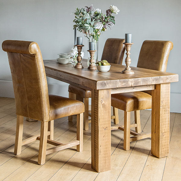 Beam Reclaimed Wood Dining Table