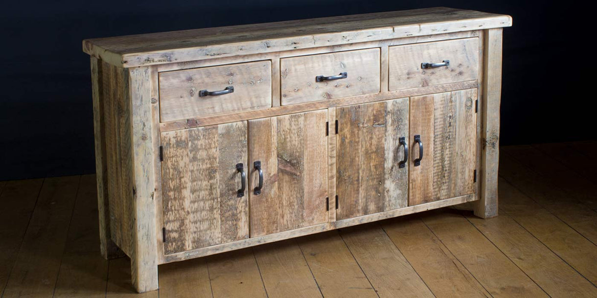 English Beam Reclaimed Wood Sideboard