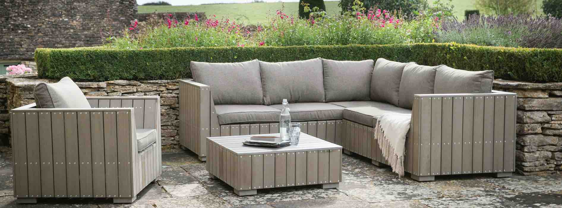 Reclaimed, Recycled, Sustainable Garden Furniture