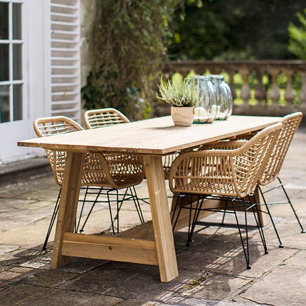 Hampstead Bamboo Garden Chairs