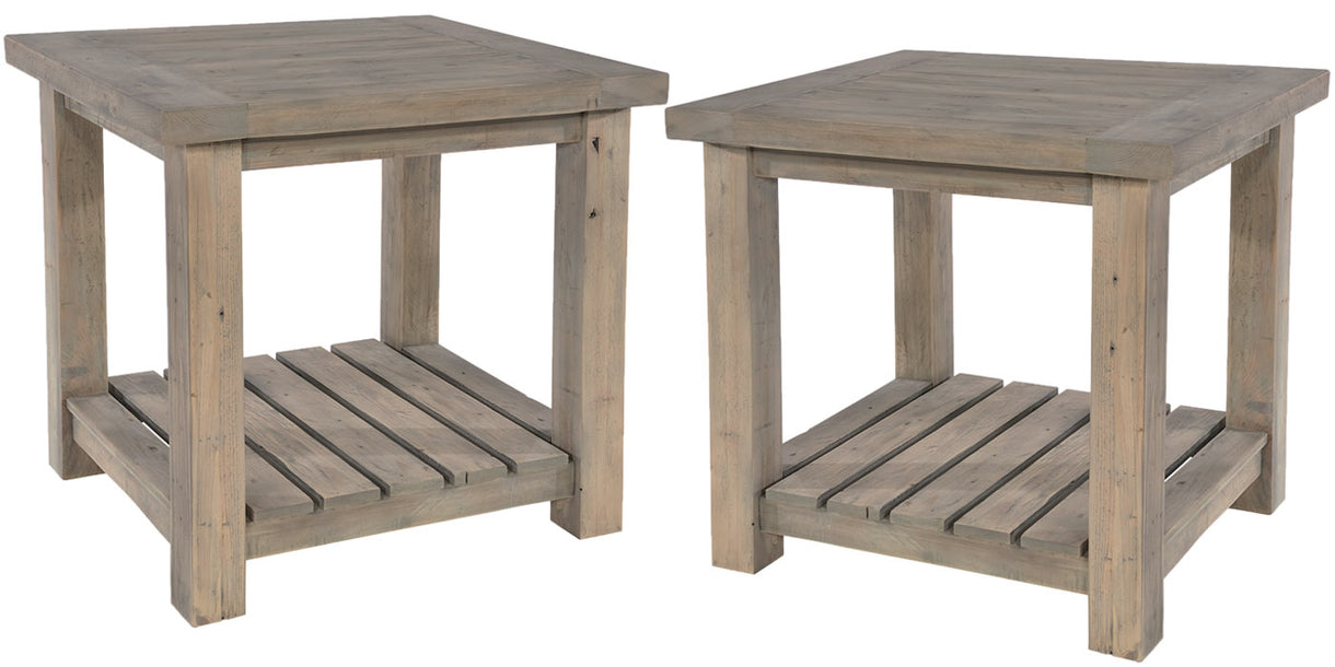 Farringdon Reclaimed Wood Lamp Tables