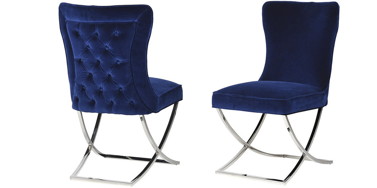 Arielle Navy Dining Chairs