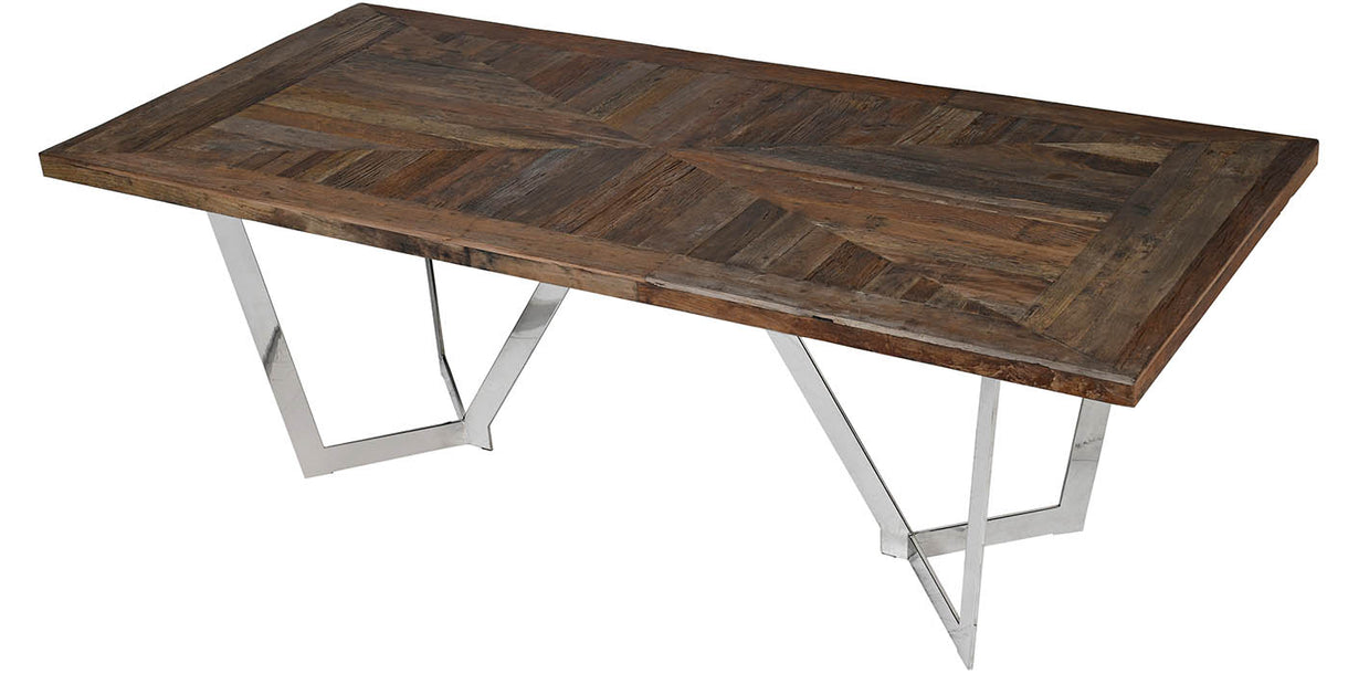 Glasgow Reclaimed Elm Dining Table