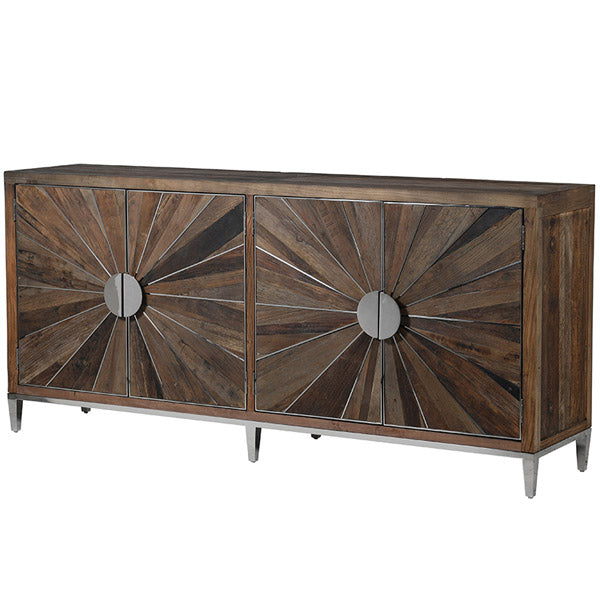 Glasgow Reclaimed Elm Large Sideboard