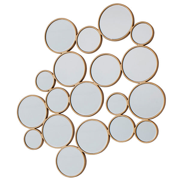 Golden Pebbles Large Wall Mirror