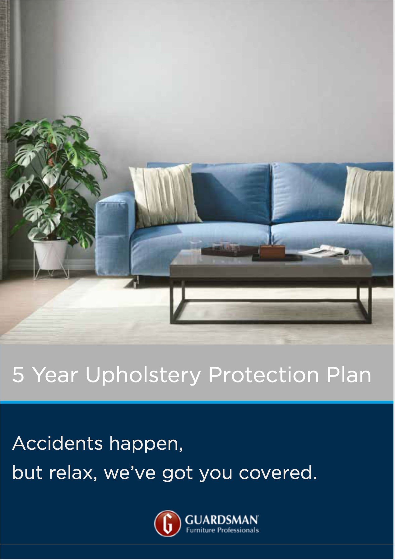 Guardsman Sofa & Armchair Furniture Protection Plan page 1