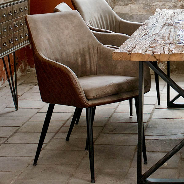 Gustav PU Leather Dining Chair