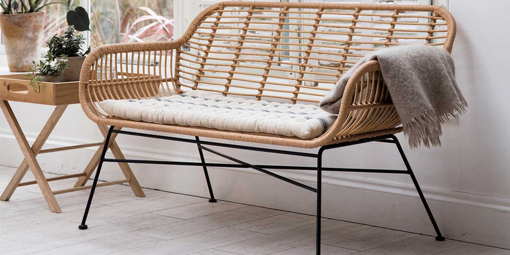 Hampstead Bamboo Outdoor Bench