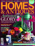 homes and antiques magazine featuring Modish Living