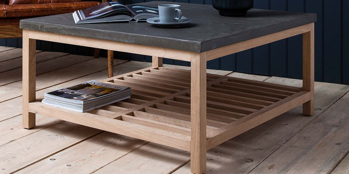 Hudson Living Brooklyn Coffee Table Square
