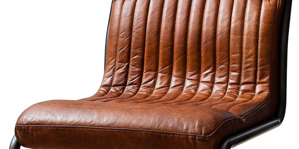 Hudson Living Capri Leather Chair close