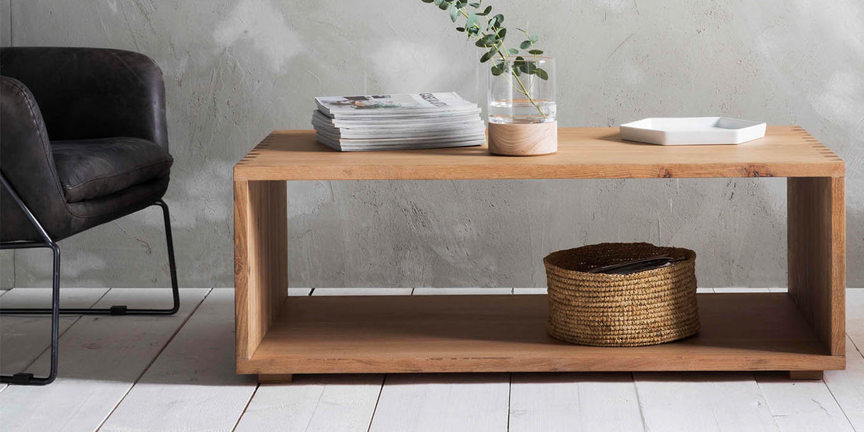 Hudson Living Kielder Oak Coffee Table