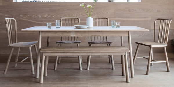 Wycombe Oak Extending Dining Table and Chairs
