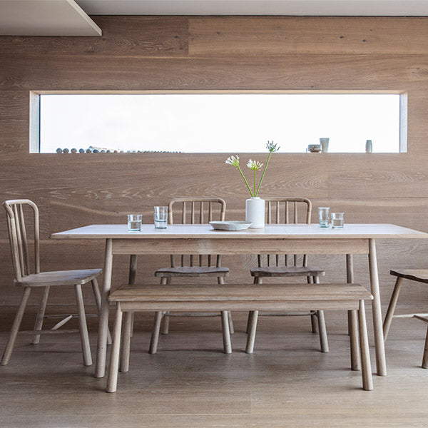 Hudson Living Wycombe Dining Table and Bench