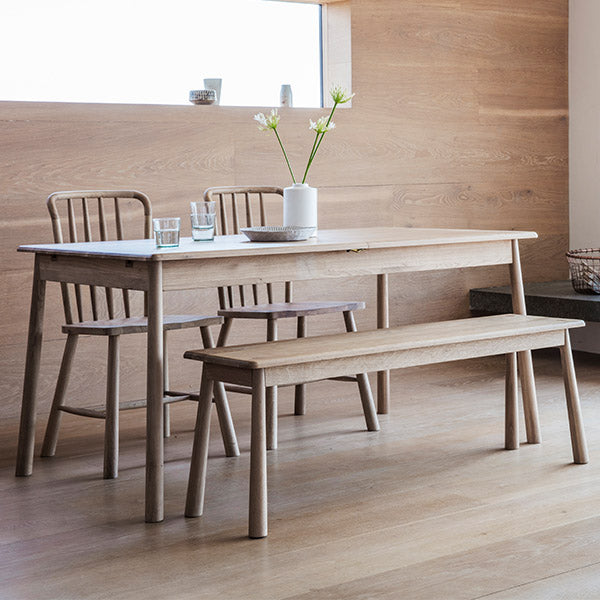 Hudson Living Wycombe Oak Dining Set