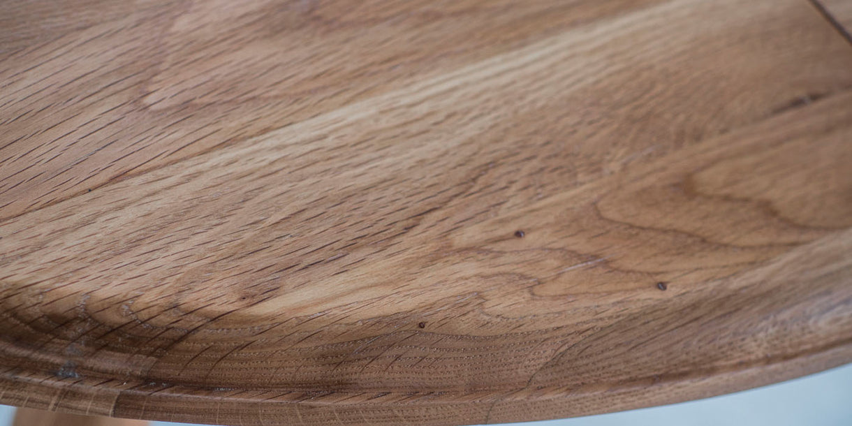Wycombe Extending Oak Round Table Top