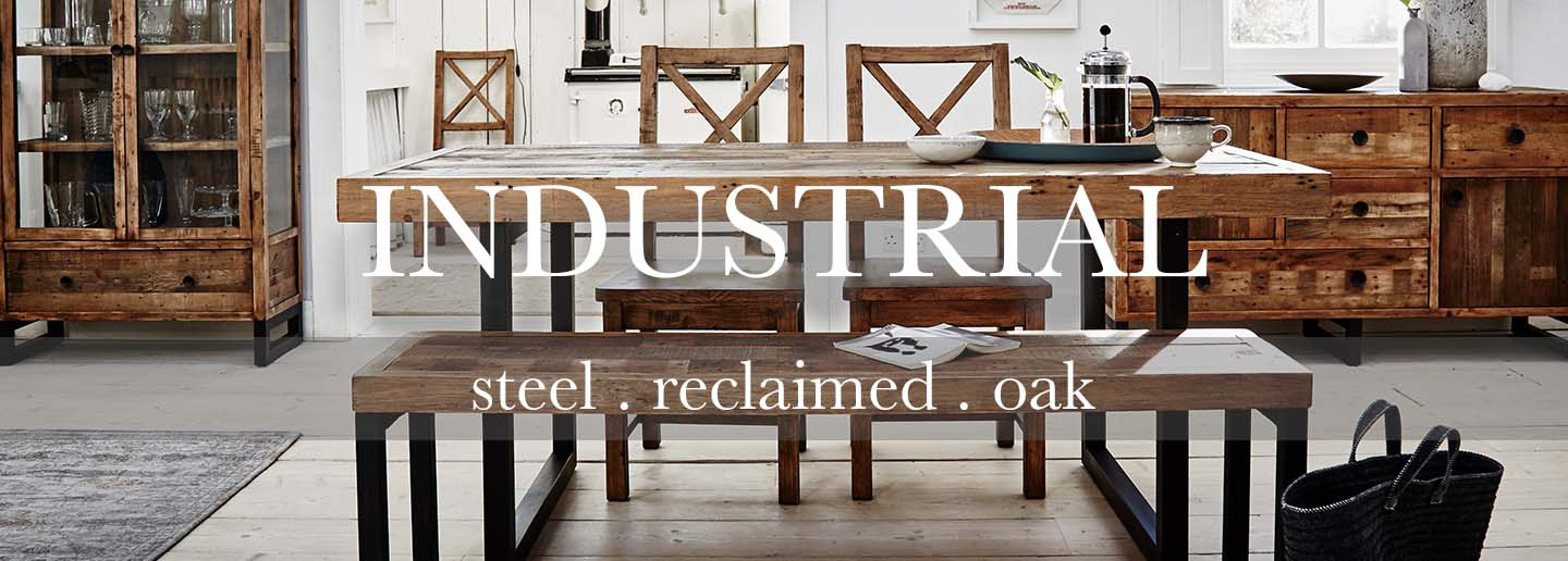 Standford Reclaimed Wood Dining Set