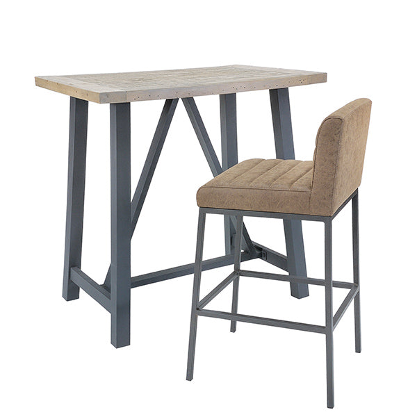 Lansdowne Industrial Bar Table
