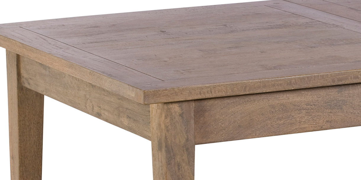 Kensal Extendable Wooden Dining Table Close up