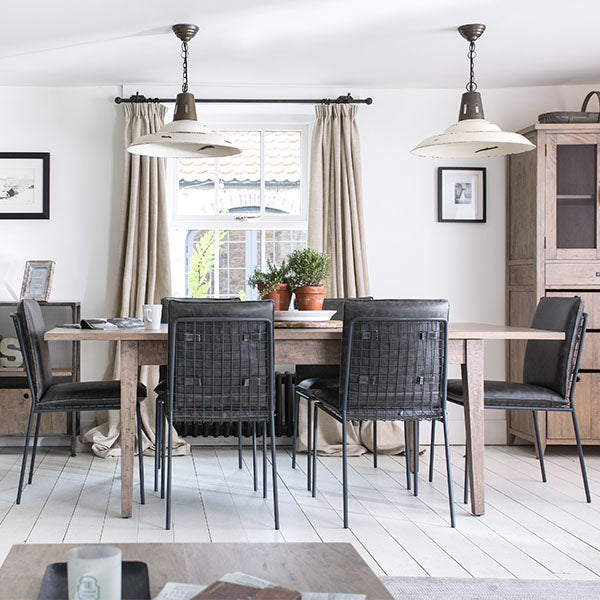 Kensal Wooden Dining Table and Chairs
