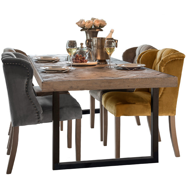 Kingsbridge Industrial Reclaimed Oak Dining Table