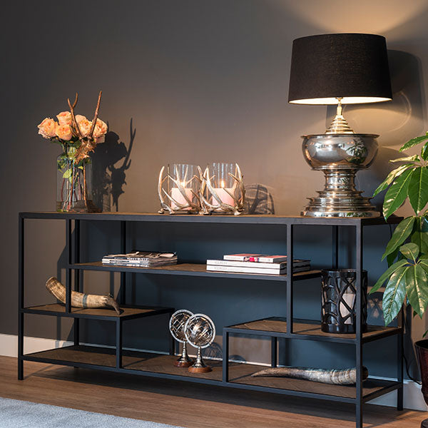 Kingsbridge Industrial Reclaimed Oak Console Table