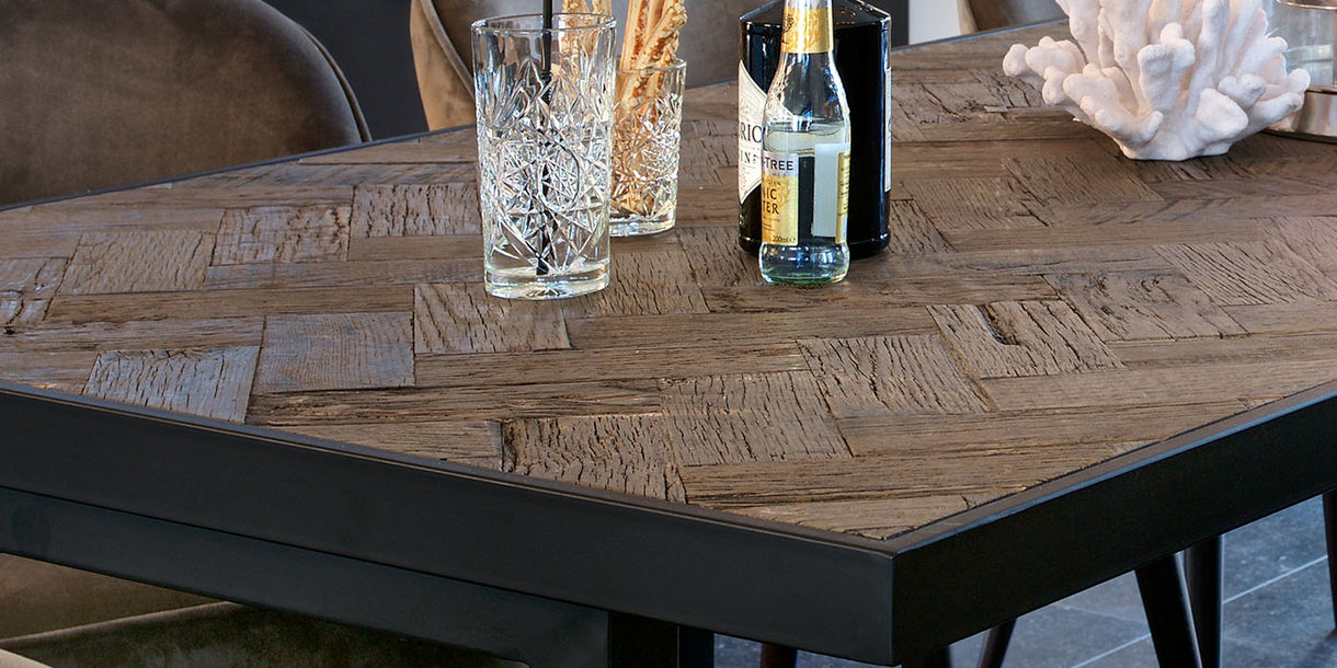 Kingsbridge Industrial Reclaimed Oak Dining Table Top