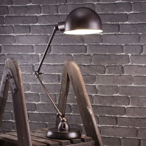 Kingsport Table Lamp finished metal black for Bedroom or Office