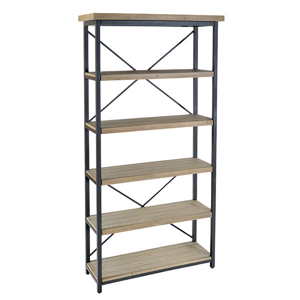 Lansdowne Industrial Reclaimed Wood Shelving