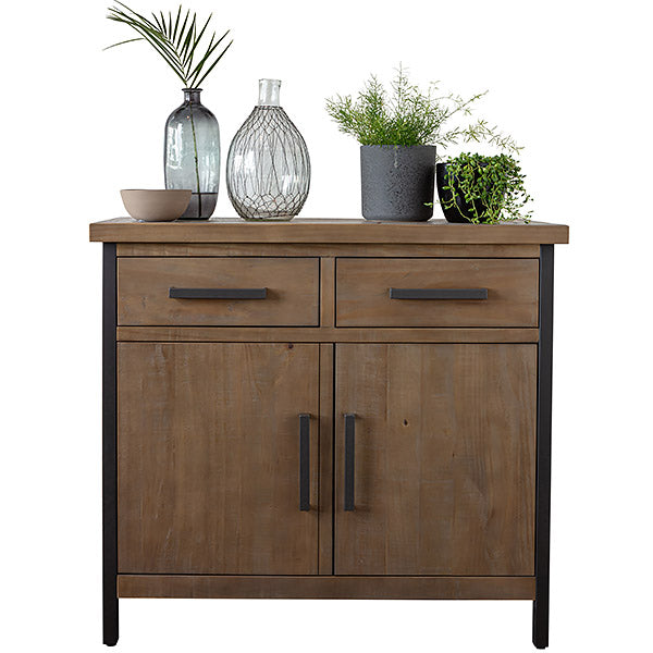Lansdowne Reclaimed wood industrial sideboard