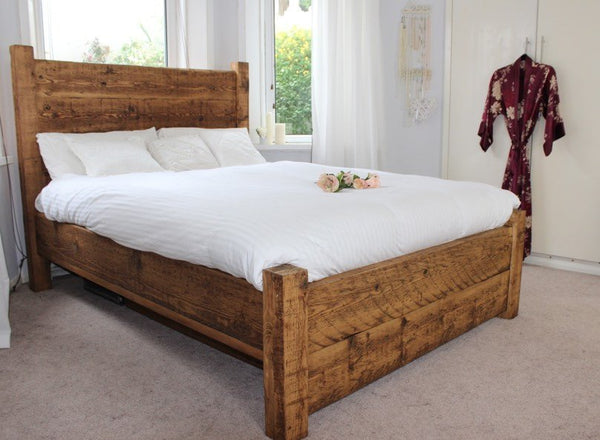 Lazy Days Reclaimed Wood Bed
