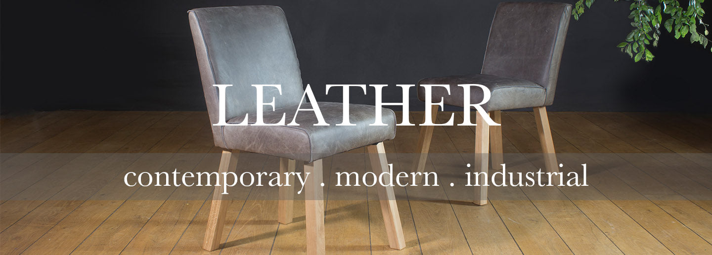 Barton Leather Dining Chairs