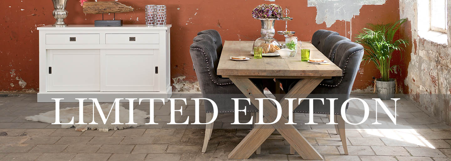 Hoxton Oak Dining Table limited edition