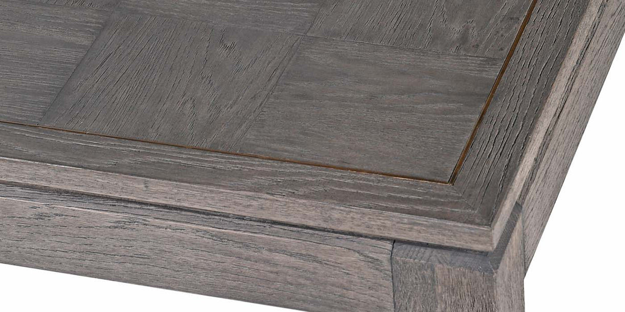 Top Detail of Livia Oak Dining Table