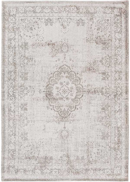 Louis De Poortere Fading World Salt and Pepper Grey Rug
