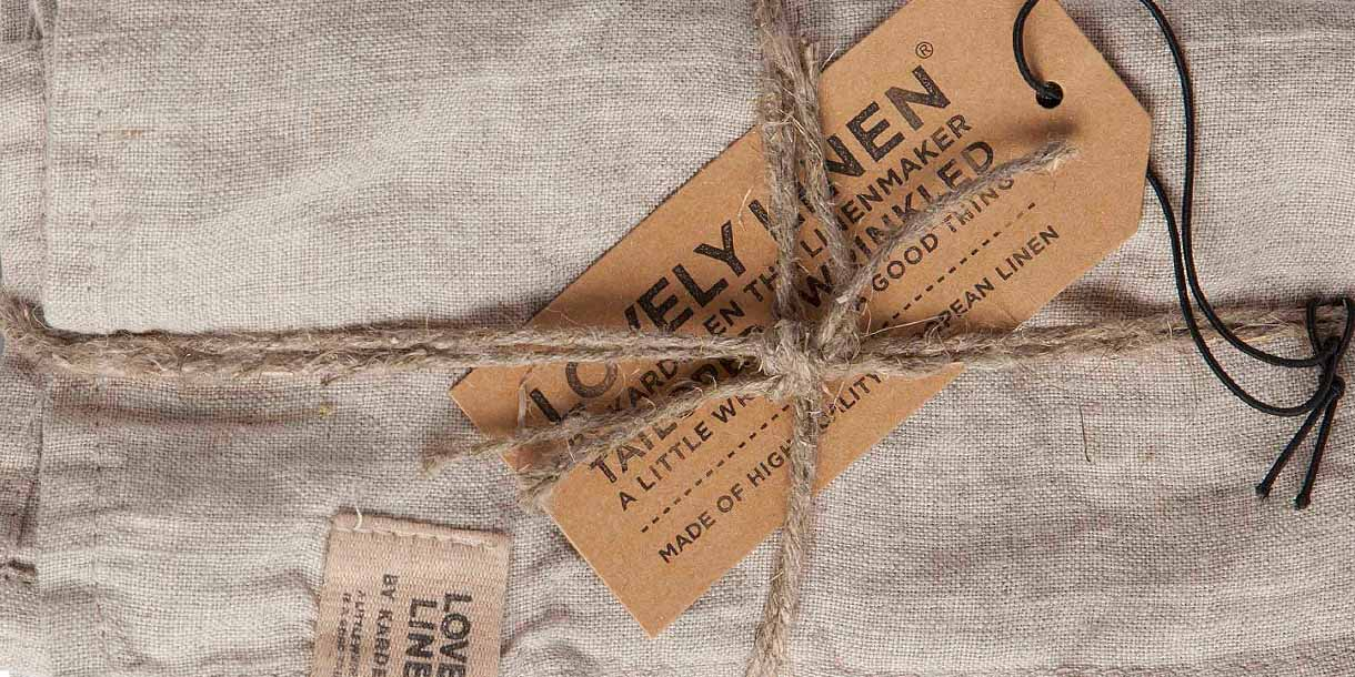 Lovely Linen Misty Meadow Napkin