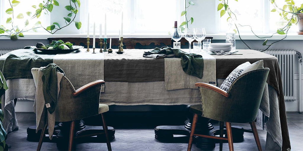 Lovely Linen Table Runner