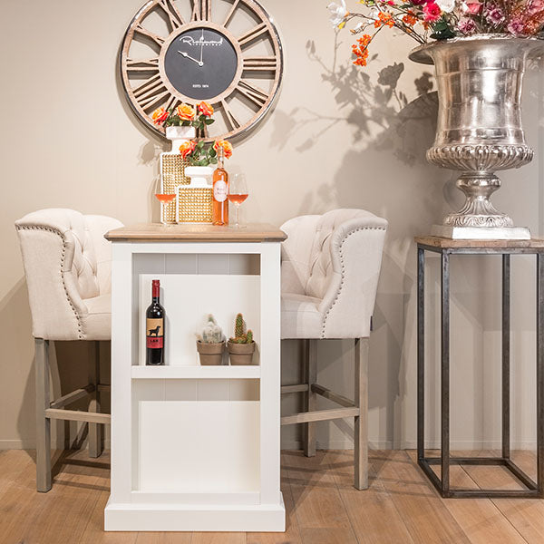 Luxe Daisy Upholstered Bar Stool