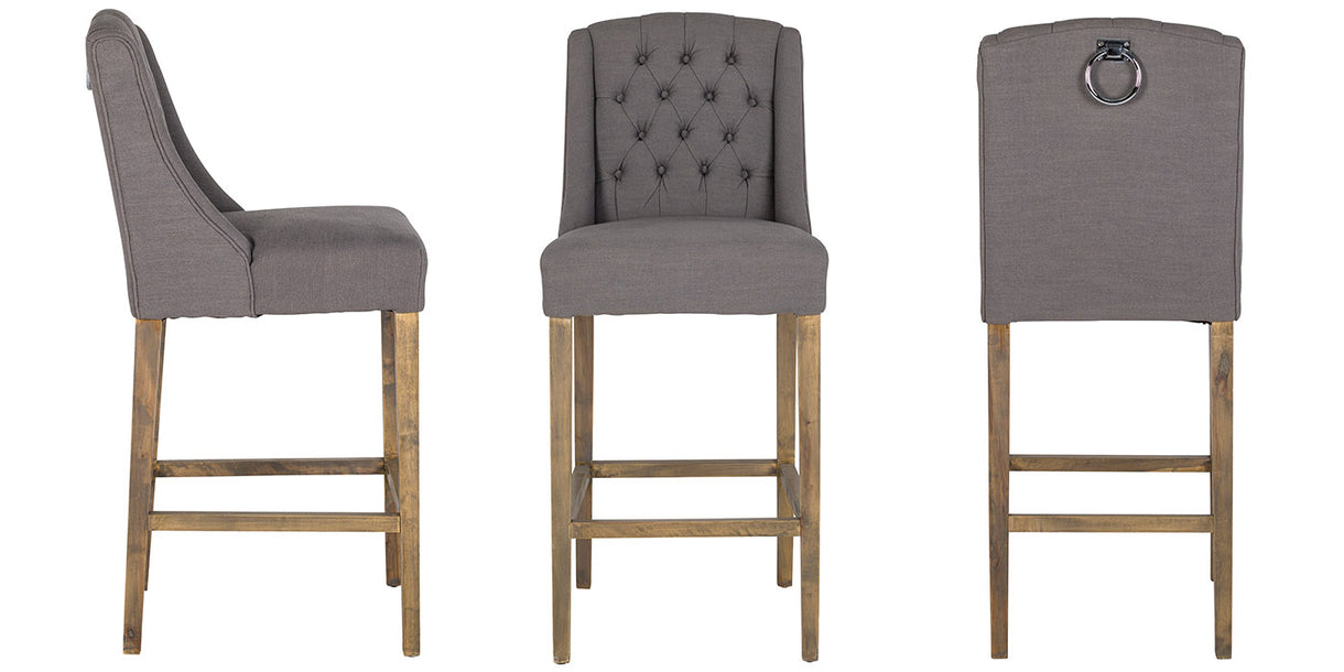 Luxe Day Fabric Barstools