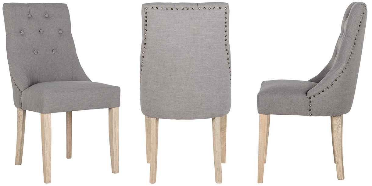 Luxe Sandy Upholstered Dining Chairs