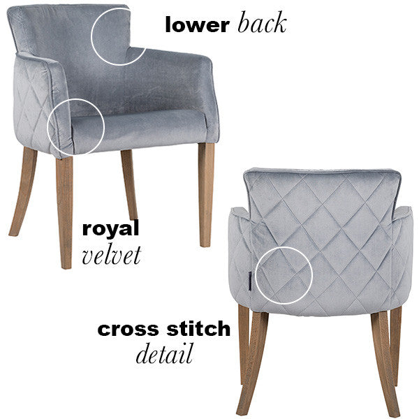 Luxe Sasha Dining Chair (pair)