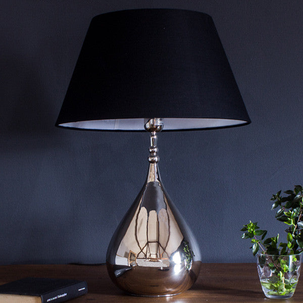Luxe Tear Drop Table Lamp