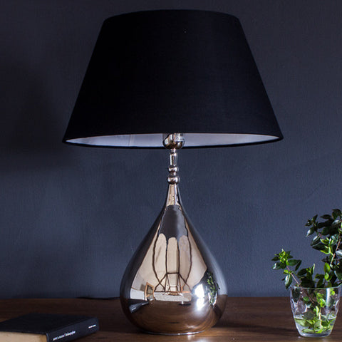 Luxe Tear Drop Table Lamp for Bedroom