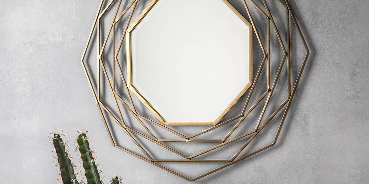 Mabel Gold Wall Mirror