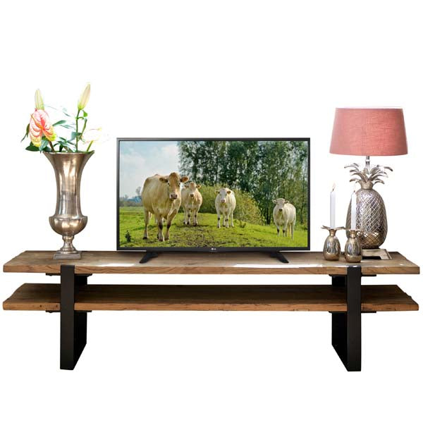 Maddox Industrial Reclaimed Elm TV Unit