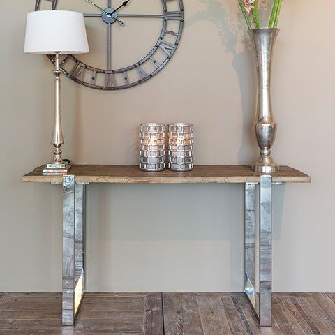 Maddox Reclaimed Elm Console Table